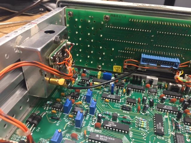 Wzorzec 1mW HP w MARCONI-6960B