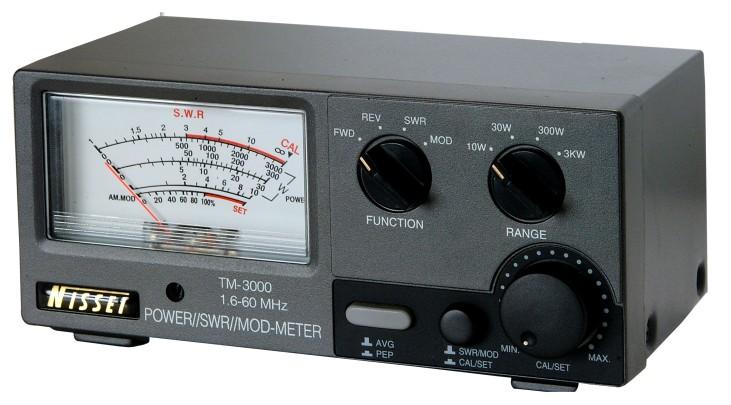 Reflektometr NISSEY model TM-3000, pomiary mocy w.cz.