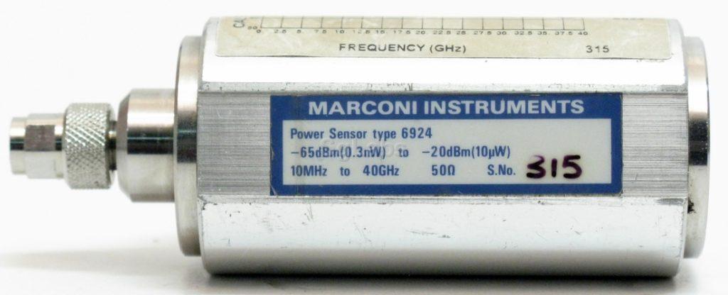 Power sensor 6924 dla pomiarów mocy 100 pW do 10 uW