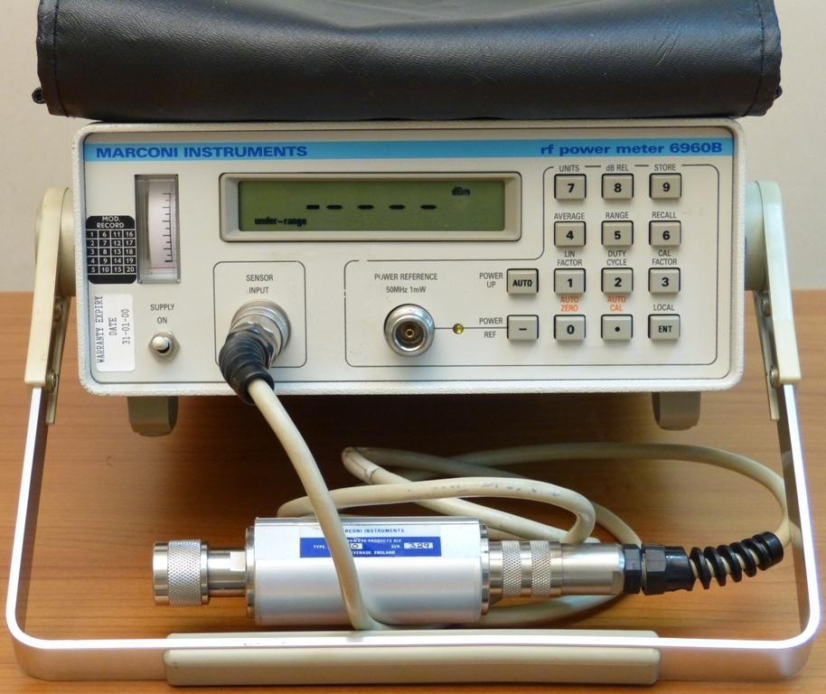 MARCONI 6960B wraz z power sensorem