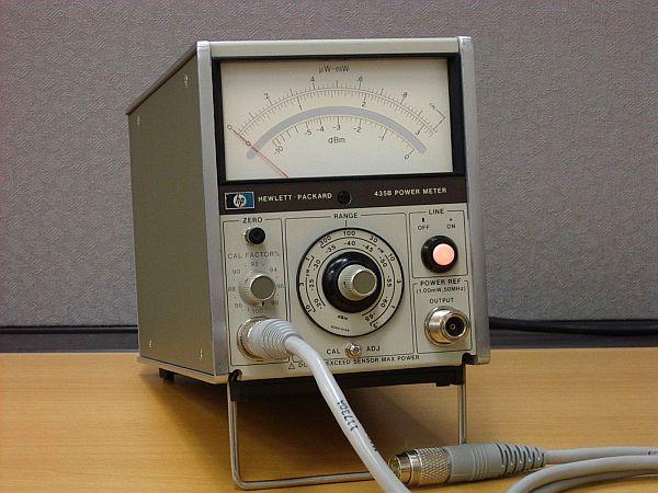 Mikrofalowy miernik mocy w.cz. HP-435B
