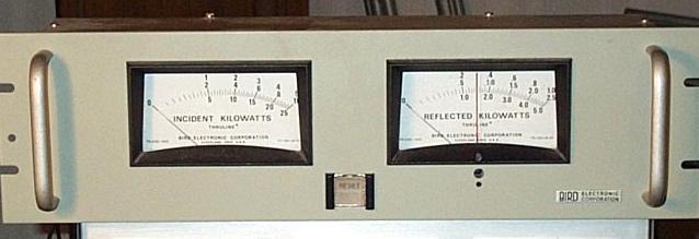 Bird Thruline RF Wattmeter