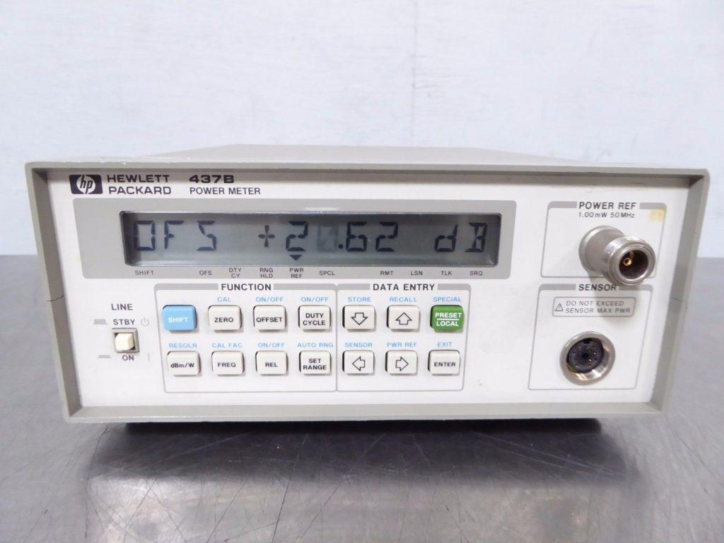Mikrofalowy miernik mocy w.cz. HP-437B