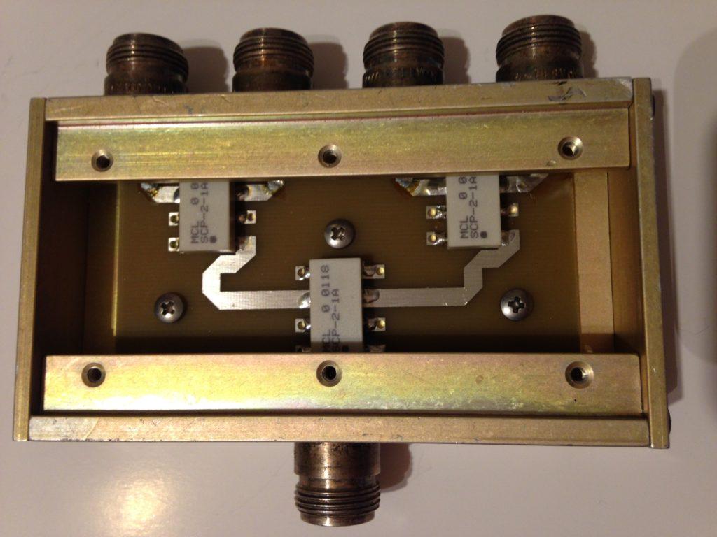 Poczwórny dzielnik mocy 1MHz do 500MHz