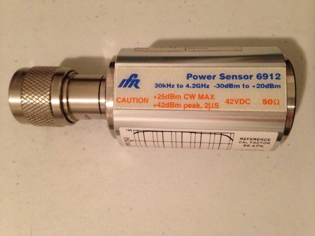 Power sensor 6912 z zakresem częstotliwości od 30 KHz do 4.2 GHz