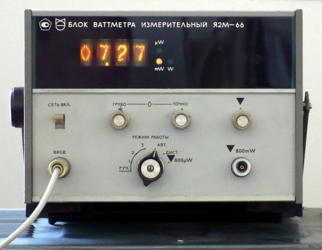 Radziecka termopara mikrofalowa do 20W w zakresie częstotliwości od DC do 18 GHz