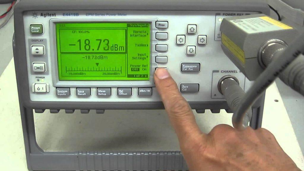 Mikrofalowy miernik mocy Agilent E4418B