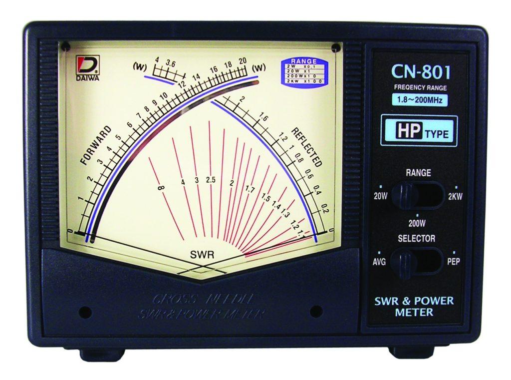 Klasyczny analogowy reflektometr DAIWA CN-801 HP 2 KW
